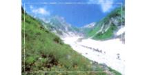 白馬大雪渓の写真